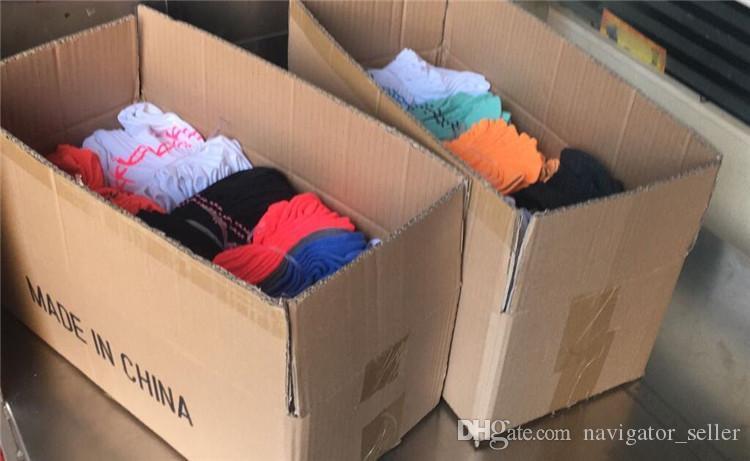 Männer Frauen Socken Jungen Mädchen Kurzes Sockel Outdoors Sports Socken Unisex Knöchelsocken Multicolors Schneller Versand