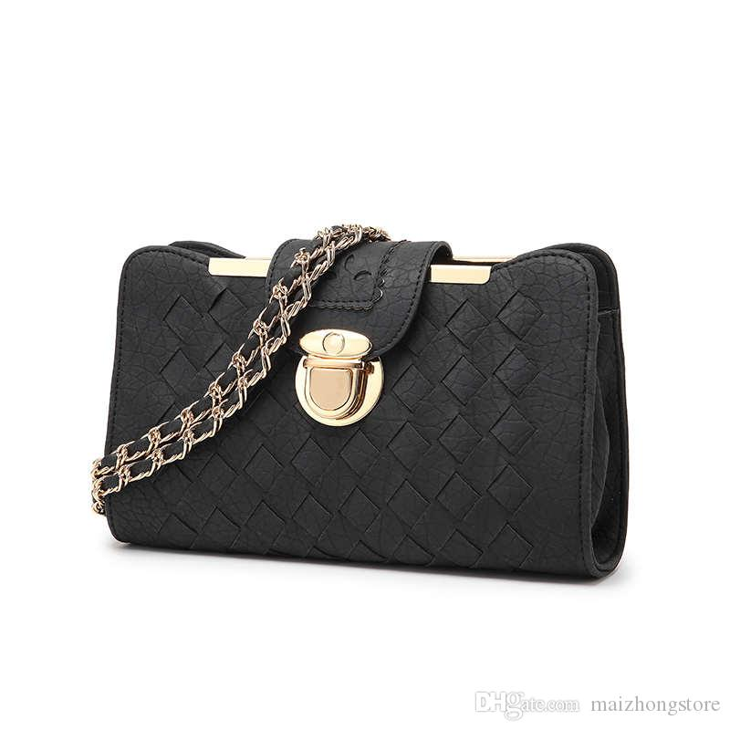 dffca5fbe68f Hot Selling Fashion Women Designer Handbags Clutch Bags Cross Body Shoulder  Bags Good Quality PU Leather For Shoping Luxury Bags Black Handbags From ...