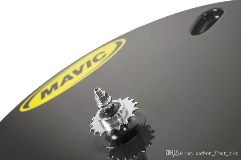 Full carbon disc wheel 700c track bike road bike super light design disc wheels clincher tubular disc wheelset