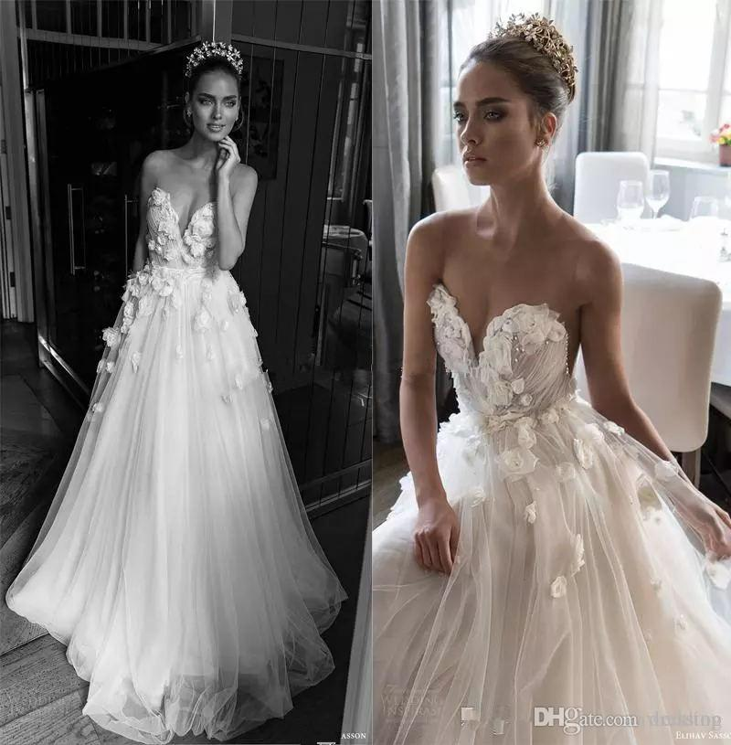 Illusion Jewel Sweetheart Embellished Ruched Bodice Wedding Dresses ...