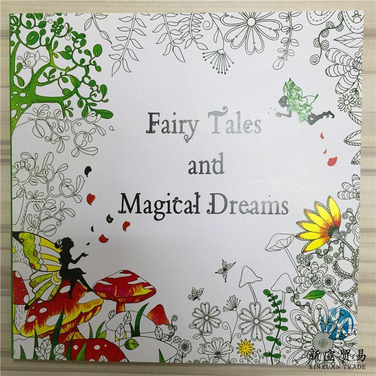 Compre Lo Nuevo De 48 Libros Para Colorear Dibujo Libros Enchanted ...