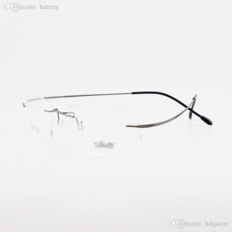 Großhandel Großhandels Randlose Titanbrille Nicht ...