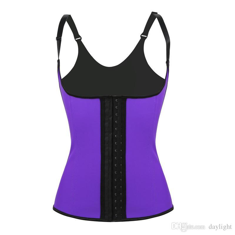 100٪ اللاتكس cincher الخصر مشد مع تعديل الأشرطة الأسود underbust الكورسيهات حزام الجسم ملابس داخلية ضغط قوي الخصر المدرب سترة