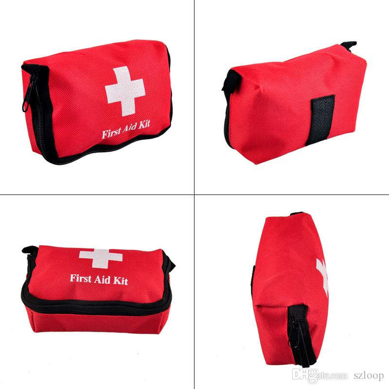Travel Sports Home Medical Bag Outdoor Car Emergency Survival Mini First Aid Kit Bag (empty) Wholesale 2503022