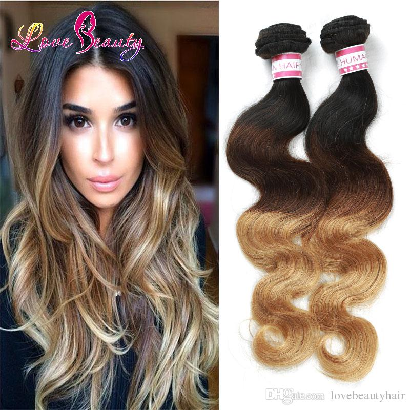 Cheap wet and wavy ombre hair weave brazilian virgin hair body cheap wet and wavy ombre hair weave brazilian virgin hair body wave indian water weave ombre human hair extensions 10inch to 28inch best quality weaving pmusecretfo Images