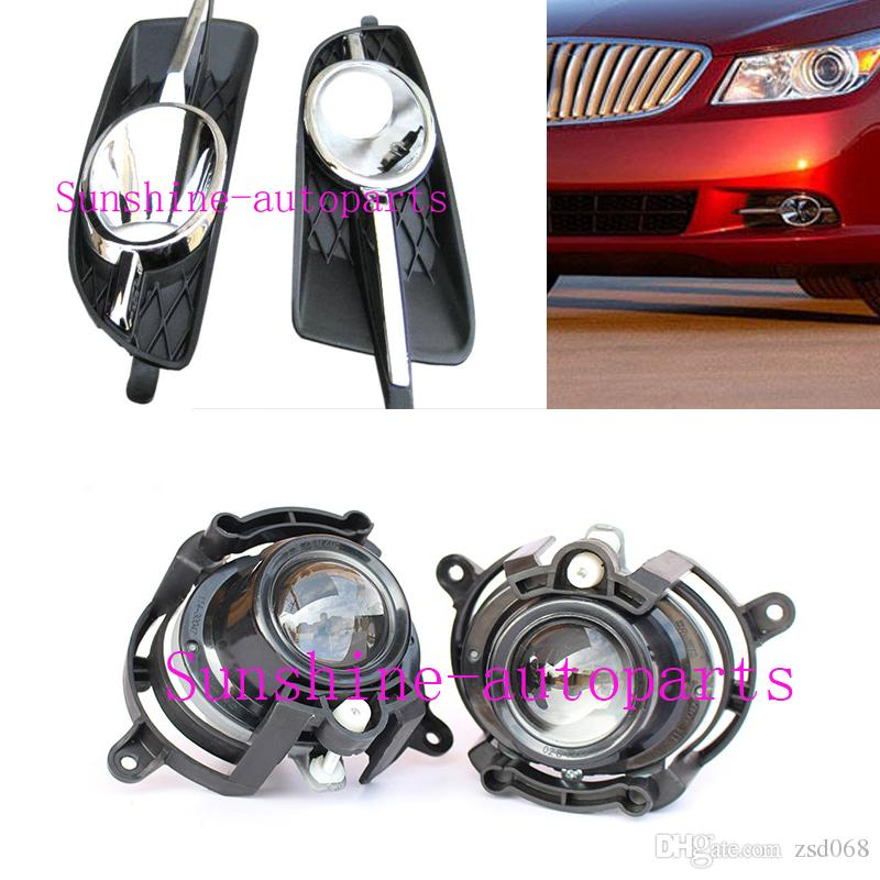 4PCS A lot For Buick LaCrosse 2010-13 Car Auto Front Bumper Fog Driving  Lights&Housing COVER diy