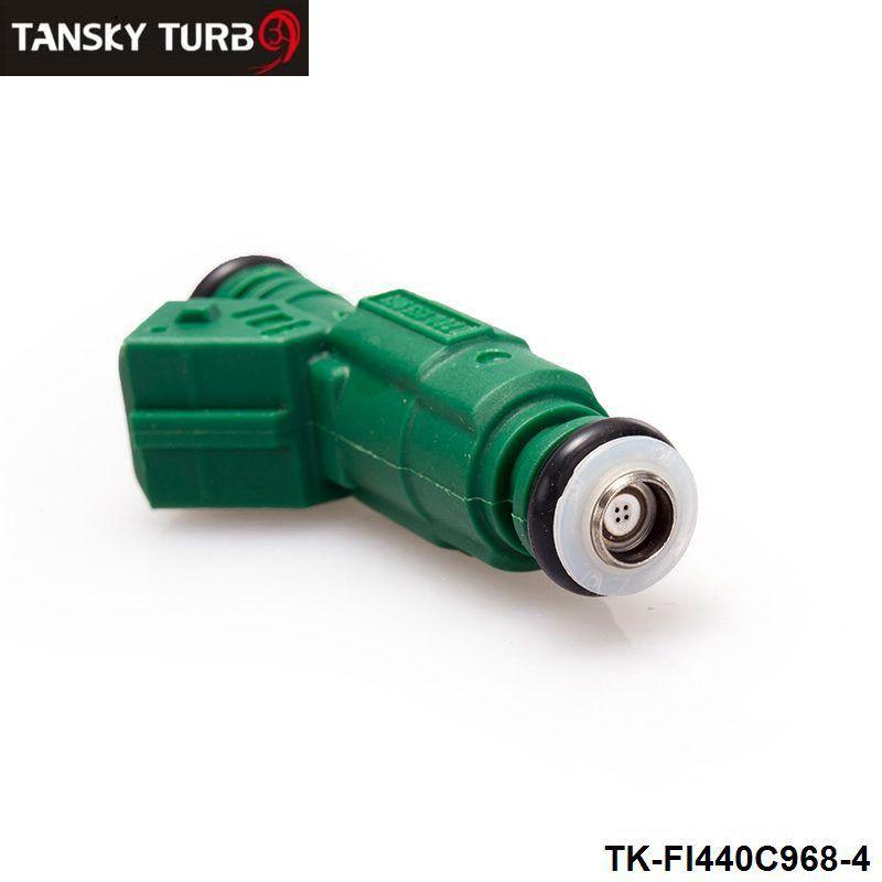 TANSKY - / LOTHigh flow 연료 인젝터 440cc 42lb 0 280 155 968 EV6 BA BF HSV FPV 터보 TK-FI440C968-4