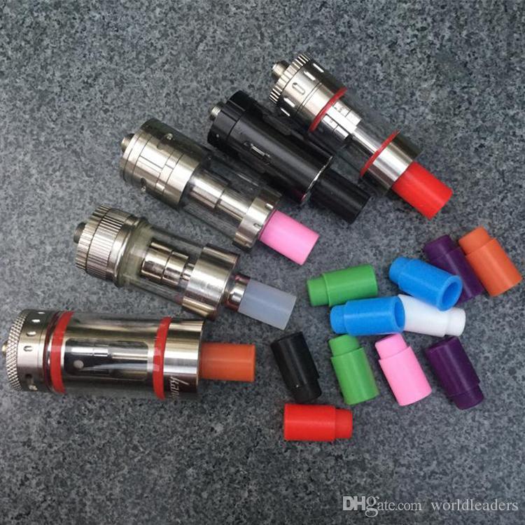 المتاح سيليكون المعبرة غطاء السيليكون بالتنقيط تلميح الملونة المطاط اختبار نصائح كاب ل اتلانتيس subtank البسيطة زائد خزان subox مصغرة نانو