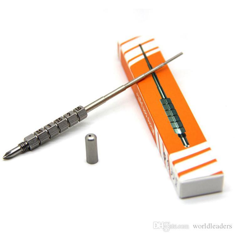 Yeni mikro bobin jig Blister Paketi DIY RBA RDA Atomizer Bobinleri Gig Paslanmaz Çelik Bobin Aracı SS Fitil Jig Sarma ...