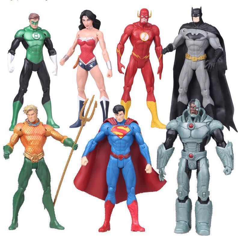 2018 Justice League Superman Wonder Flash Batman Lantern Aquaman ...