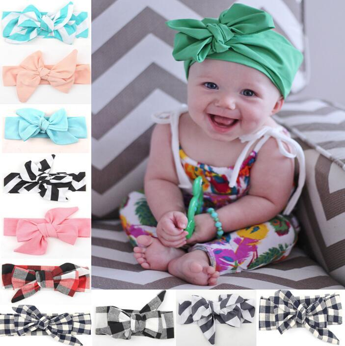 HOT!15% Off!Fashion Baby Girl Headbands Baby Cloth Headband Bowknot  Headwear Solid Color Baby Girl Elastic Hair Bands Hair Accessories Hair  Accessories For ... 8a00dd9fbc3
