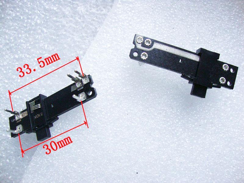 Nuove console scorrevole potenziometro scorrevole dimming fader singola diapositiva dritto B10K congiunta