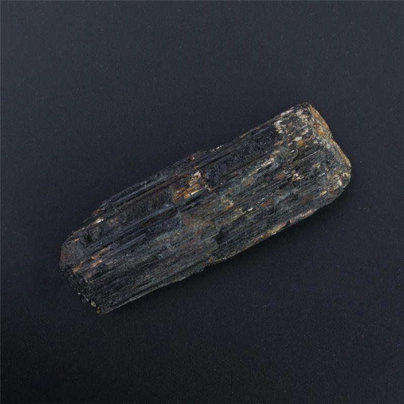 Wholesale 80mm Natural black tourmaline crystal Gems Energy Chakra Stone Mineral Specimens gravel decoration original Rock Specimen