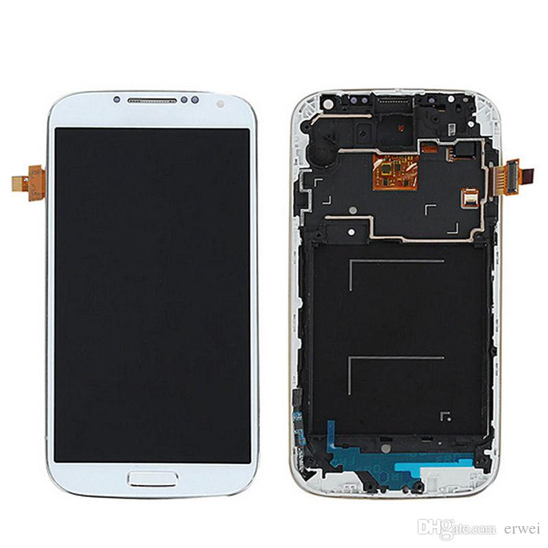 Original brand new For Samsung Galaxy SIV S4 i9505 LCD Display+Digitizer Touch Screen with DHL