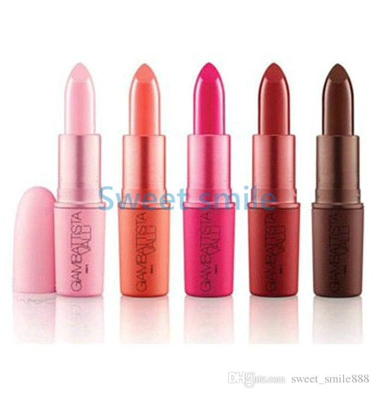 High Quality Giambattista Matte Lipstick Brand Makeup 5 Colors With English Name 3g free shipping