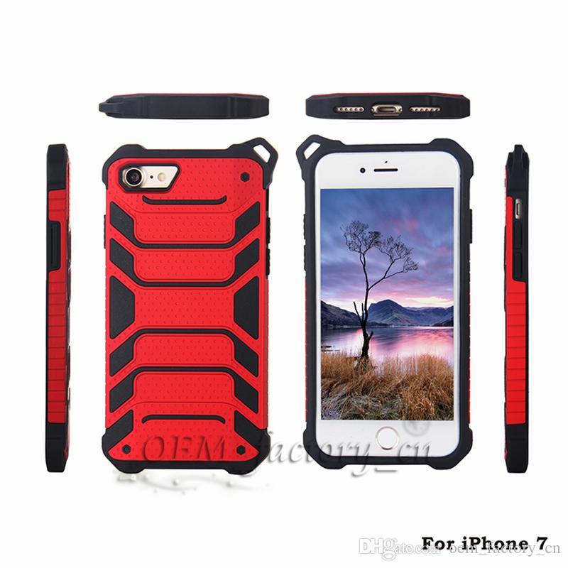 Para o iphone 8 casos 3 em 1 híbrido moda spider design com pendurado corda telefone habitação para x 7 plus galaxy note8 s8 mais