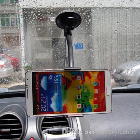 Uchwyt do montażu samochodów z 360 stopni obrotu przyssawki Uniwersalny uchwyt na telefon komórkowy dla Apple iPhone 6s Plus Samsung S7 DB010