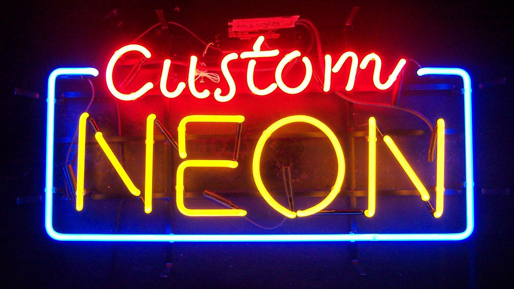 Image result for Custom Neon Signs