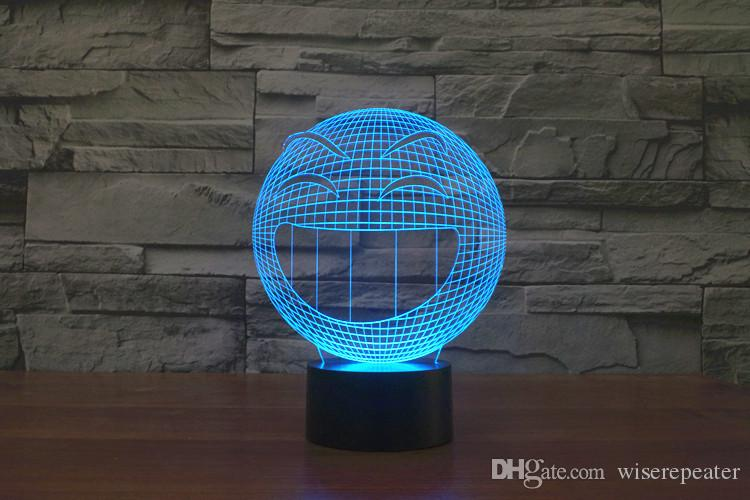2016 Sourire Chaud 3D Lampe De Nuit Optique Veilleuse 9 LEDs Veilleuse DC 5V Usine En GrosEiffel Towe