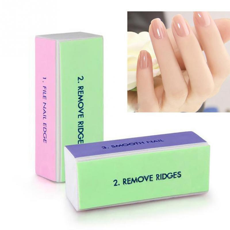 Wholesale- Nail Art Buffer File Block Pedicure Manicure Buffing ...