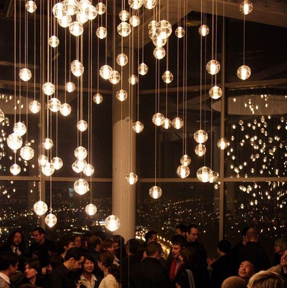 Discount Simple Post Modern Crystal Glass Ball Chandelier Art ...