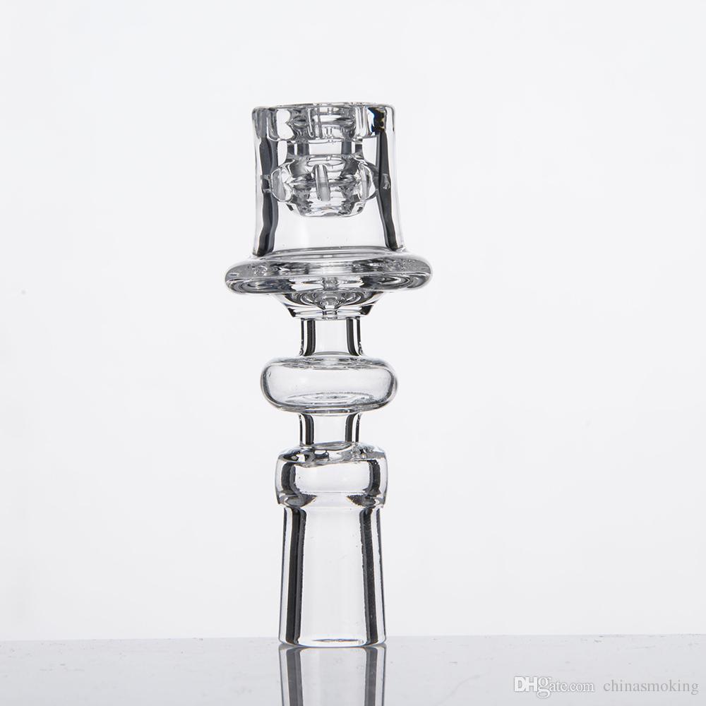 다이아몬드 매듭 Enail 석영 전기 손톱 20mm 코일에 대 한 명확한 공동 우아한 디자인 19.5 mm 보 울 디 아