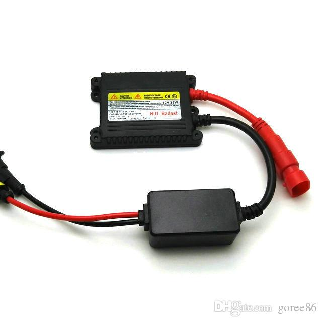 2 * super quality 35w ballast 35w hid xenon hid ballast 35w 12v lighting ballast car ballasts for D2R H16 H15 9003 9004 9007 H4.