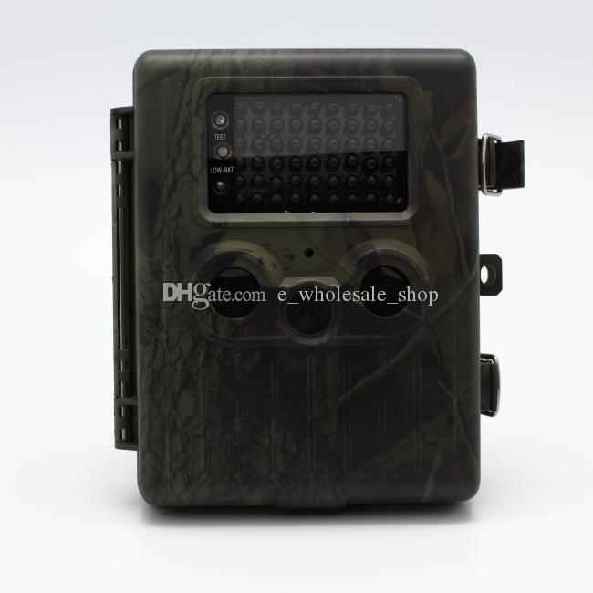DHL free Good Quality Hunting Camera Rain-proof HD Digital Infrared Scouting Cameras Trail Camera IR LED Video Recorder 12MP HT-002AA