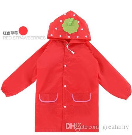 New Arrive Raincoat jacket Princess Kids Rain Coat children Raincoat Rainwear/Rainsuit,Kids Waterproof Animal Raincoat