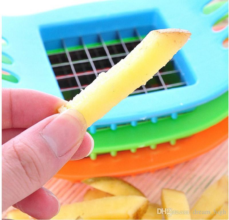 Kartoffelschneidemaschine geschnitten Pommes Kartoffeln geschnitten Multifunktionale manuelle Kartoffelschneider Küche Kochen Werkzeuge Spirale Kartoffelschneider