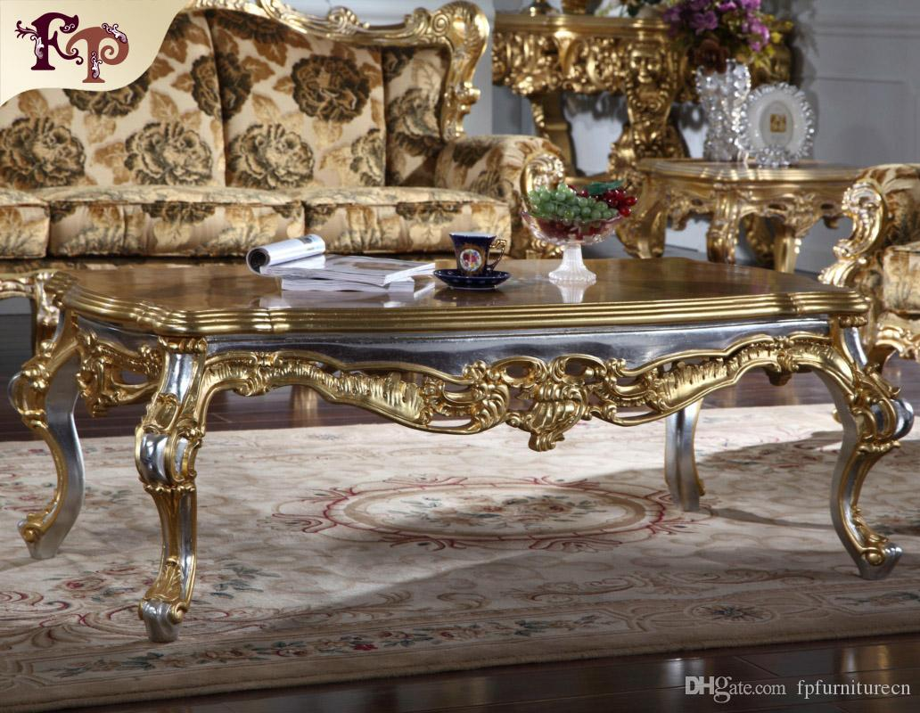Antique Furniture Manufacturer-French Classic Coffee Table