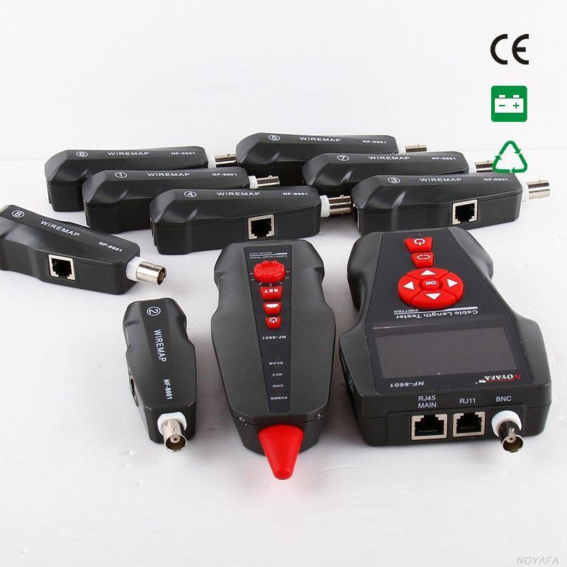 Wire Tracker POE PING Ethernet Tester LAN Cavo tracer Tester RJ11 RJ45 Cavo BNC Localizzatore di guasti