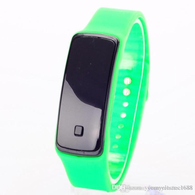 2016 Fashion Sunglasses Touch Screen LED Bracelet Digital Watches For Men&Ladies&Child Clock Womens Wrist Watch Sports Wristwatch