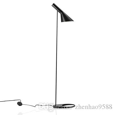 2018 2017 new post moderndesign louis poulsen arne jacobsen aj floor 2018 2017 new post moderndesign louis poulsen arne jacobsen aj floor lamp blackwhite metal stand light for living roombedroom e27 led bulb from aloadofball