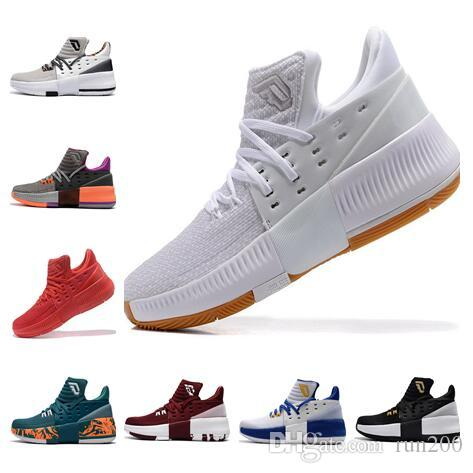 Good Damian Lillard 3 Legacy White For Sale Basketball Shoes Wholesale D  Lillard 3 High Quality US7 US12 Shoe Shops Cheap Basketball Shoes From  Run200 1ce1019814d6