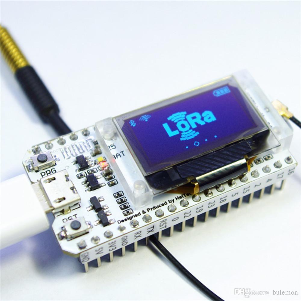 SX1278 ESP32 LoRa 0 96 Polegada Azul Display OLED Bluetooth WI-FI Lora Kit  32 Módulo IOT Placa De Desenvolvimento para Arduino w / Antena