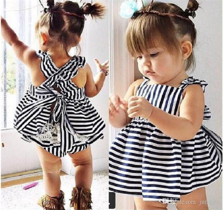 210feb5665da9 2Pieces Girls Dress Set The Small Baby Girls Lace Dresses + PP Pans Babies  Tops Pants Outfits Kids Clothing Fast Shipping
