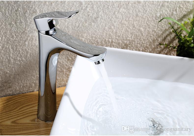 Free Shipping High quality fashion faucet vegetables copper basin faucet Kitchen sink tap
