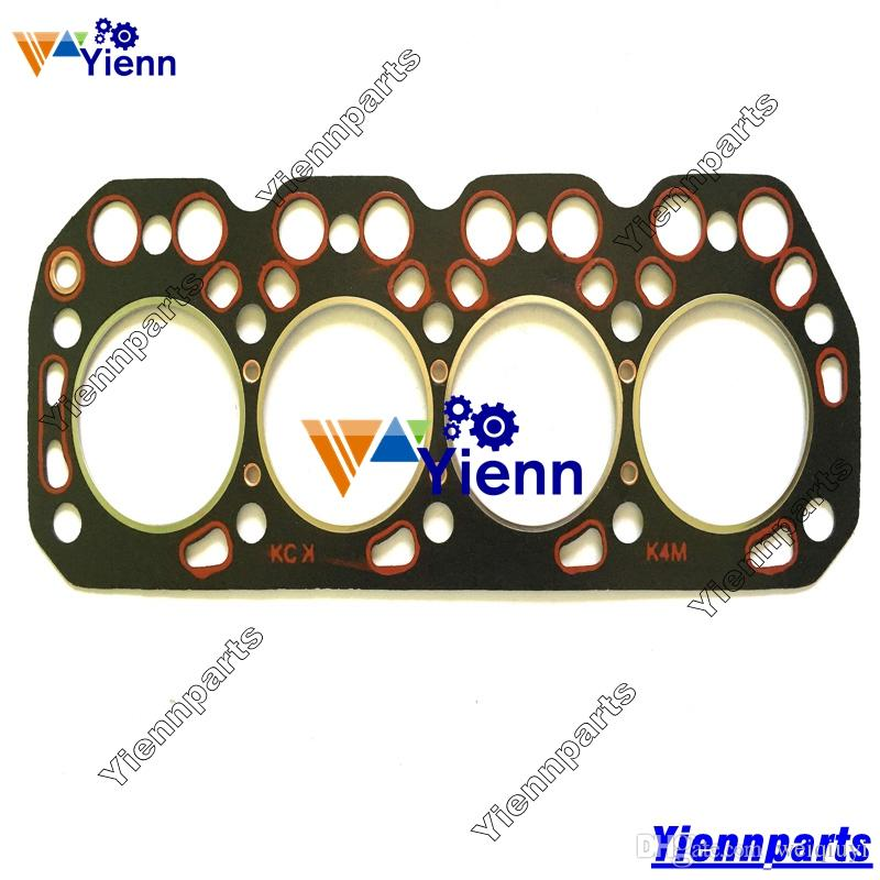 Tractor excavator overhaul repair engine parts Mitsubishi K4M top cylinder  head gasket MM438680 OEM quality made