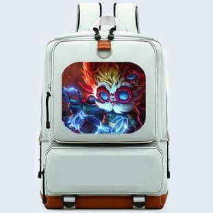 Heimerdinger Backpack Big Head School Bag Hero Inventor Daypack Game ... a066ace0d1