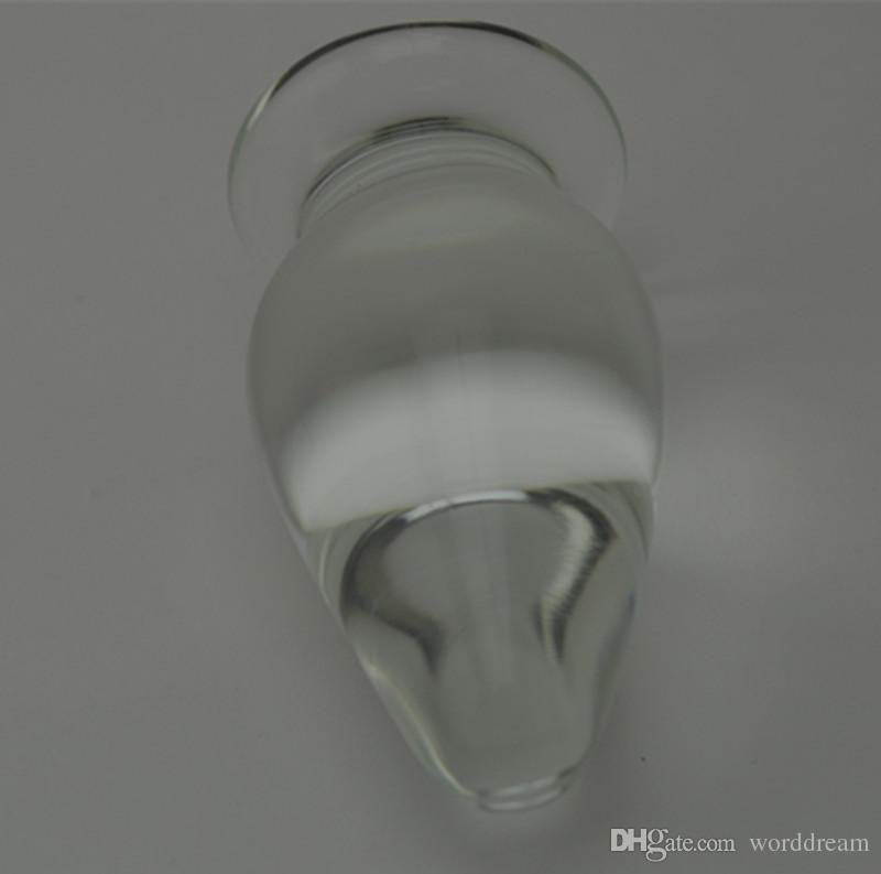 Big Glass Anal Bead Butt Plug voor vrouwen en mannen gay, fetish erotische anus expand tool sex games volwassen producten speelgoed voor koppels
