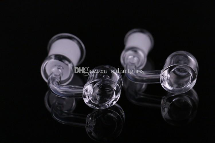 4 mm grosso clube Quartz Banger dom de quartzo 14 milímetros feminino 18 milímetros feminino. Quartzo 100% real para o bongo do vidro da plataforma do dab