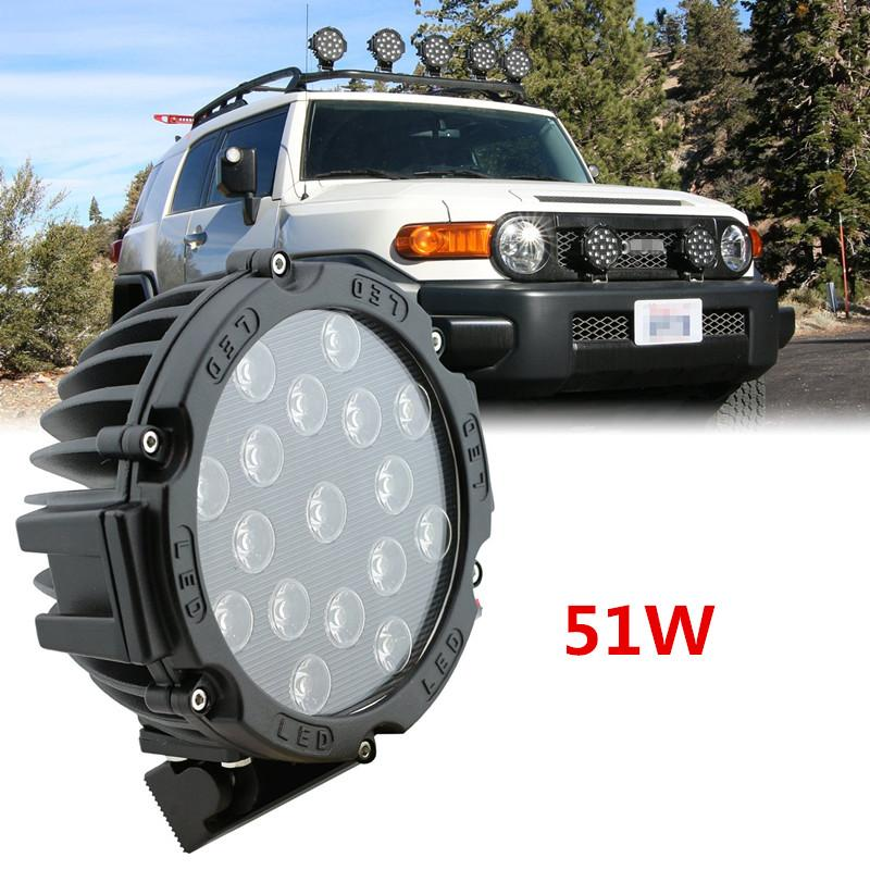 2016 new arrival universal 7inch car led work light headlights fog universal 7inch car led work light headlights fog lights spotflood combo beam for suv truck driving clt40r fog lights fog light car 10 led work light publicscrutiny Image collections