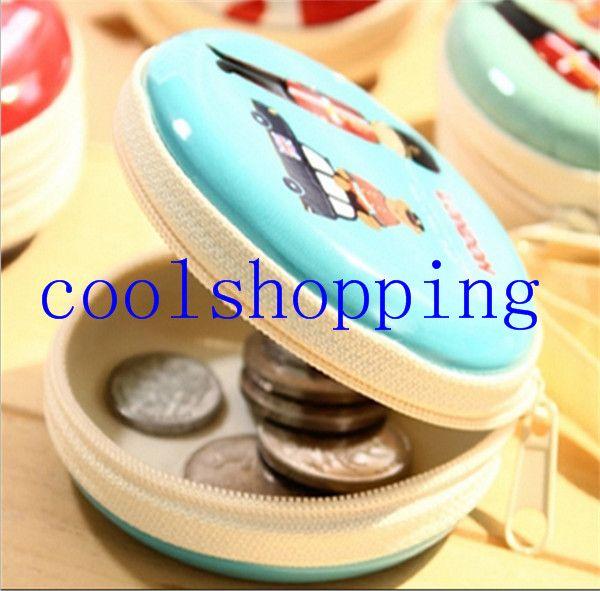 Kawaii poche sac de transport rigide sac de rangement de stockage pour écouteurs casque carte SD porte-monnaie