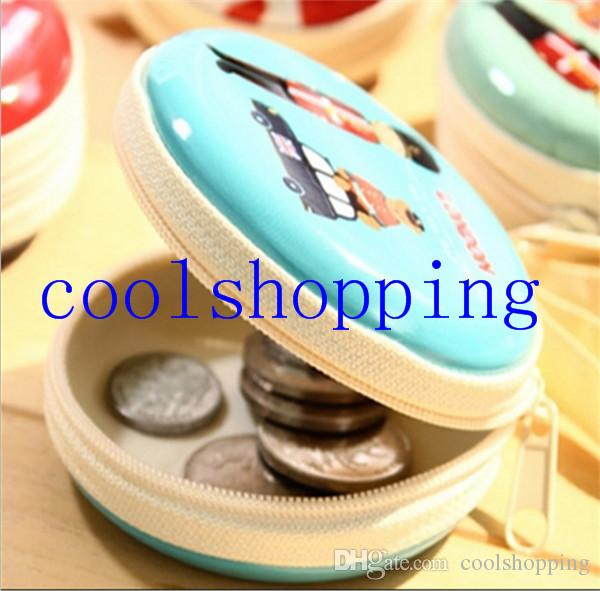 Kawaii Pocket Hard Carrying Case Bag Holder Storage For Earphone Headphone SD Card Coin Purse