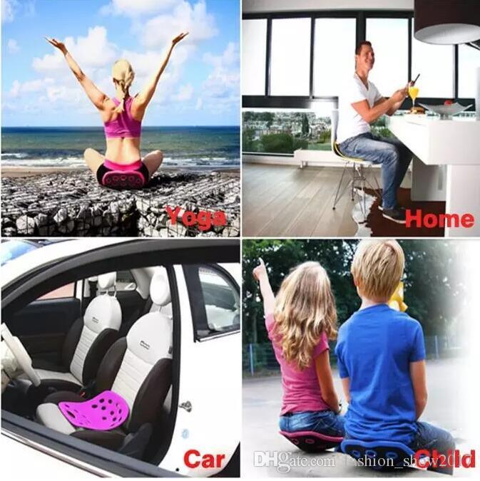 NOUVEAU Amélioration de la posture SitSmart Plus pour la posture du mal de dos et du coussin de siège correcteur de posture de sitsmart