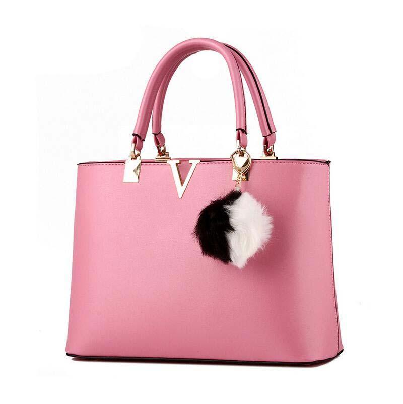 High grade cheap The new fashion sweet lady temperament V-shaped zipper women Shoulder Messenger Handbag BAG102