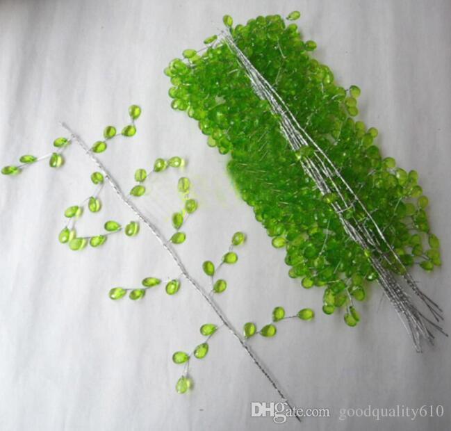 30 cm cristales guirnalda para ramos de boda Brida Hair Venue decoración nueva