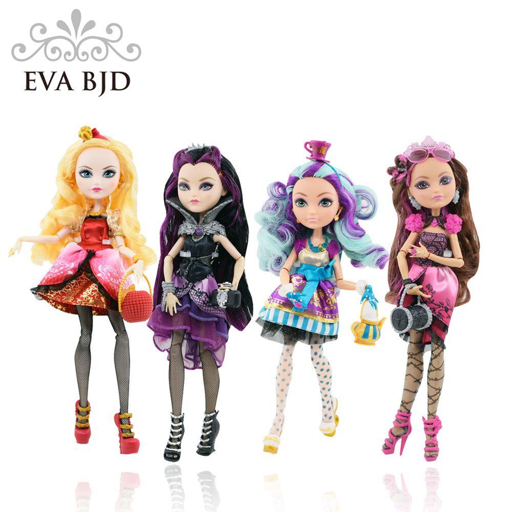 eva bjd 1 6 4 girl for monster high dolls for child toy with