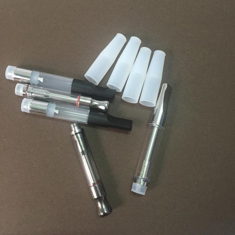 Drip Tip pour bud touch atomiseur en acier inoxydable épaisse huile vaporisateur réservoir double bobine de chauffage en métal goutte à goutte pointe o stylo vape cartouche